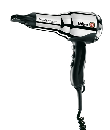Valera SILVER Metal-Master Ionic 2000w PUSH button hair dryer