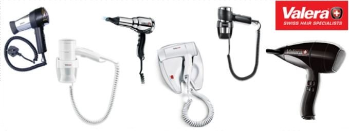 Valera Push button hair dryers
